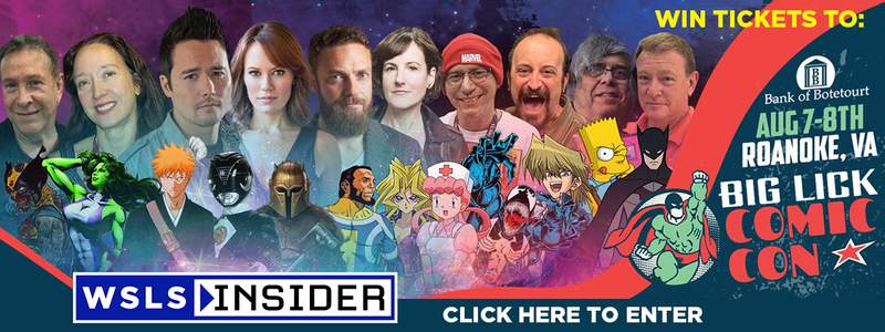 WSLS Insider Comic Con Sweepstakes