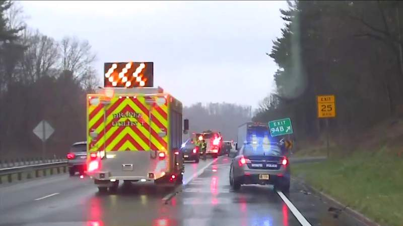 Man killed in one of several crashes