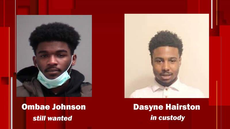 Dasyne Hairston turned himself in to police.
