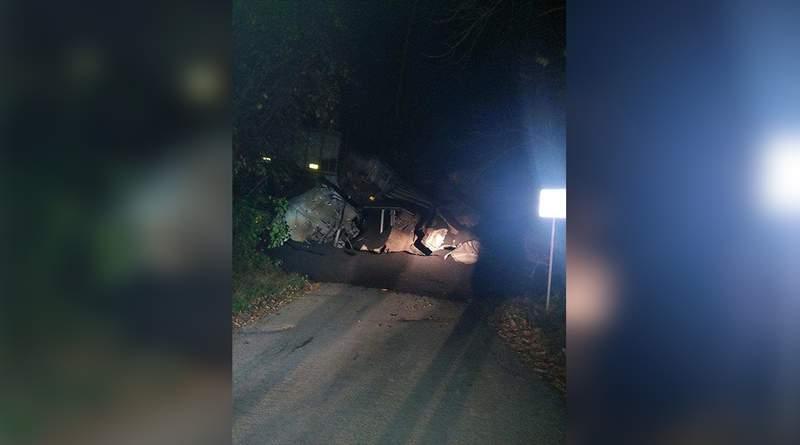 Norfolk Southern train derailment in Roanoke County.