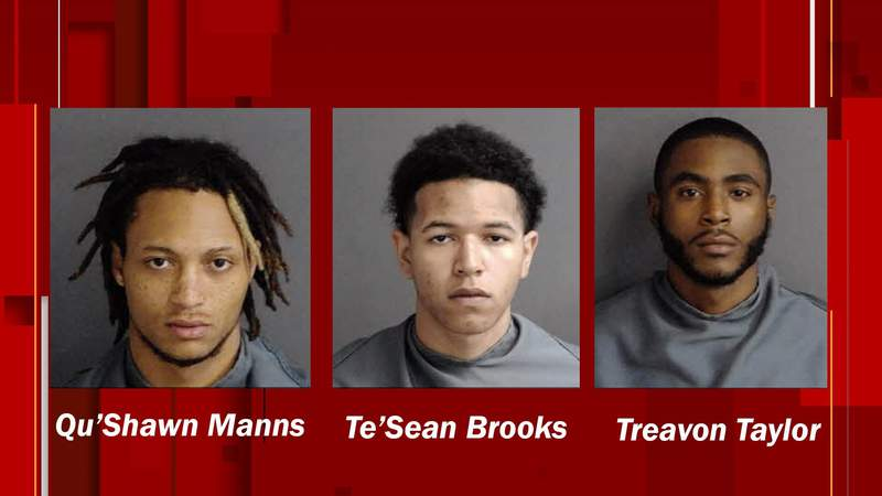 Three arrested in Franklin County deadly shooting