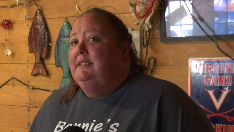 Local business owner's tearful plea