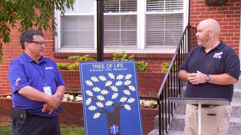 National EMS Moving Memorial visits Roanoke
