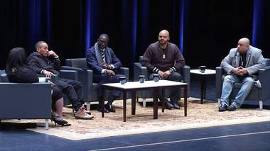 'Inside we're still broken': Members of Central Park Five visit Virginia Tech to commemorate MLK