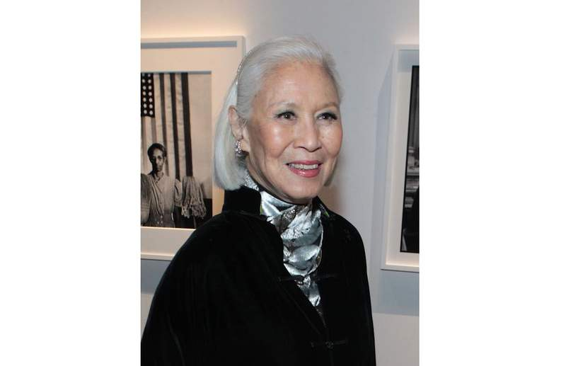 This 2018 photo released by the Gordon Parks Foundation shows Genevieve Young, a publishing editor and wife of photographer and filmmaker Gordon Parks. Young was 89 when she died at her home in Manhattan on Feb. 18, 2020, after a long battle with cancer. She was a publishing editor with a long and diverse legacy. Beyond publishing a paid notice in The New York Times, the family says it had trouble finding anyone to report on her death because of the quickly spreading coronavirus. Plans for a memorial tribute, originally scheduled for last spring, remain on hold. (Gordon Parks Foundation via AP)