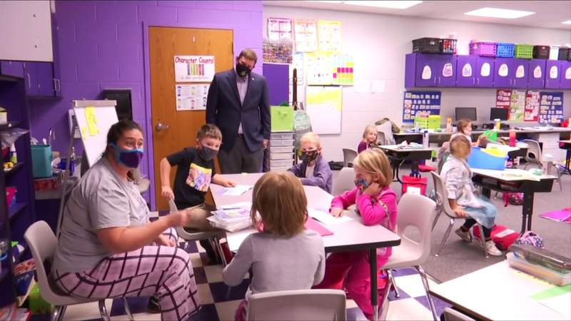 State Superintendent visits schools in our area