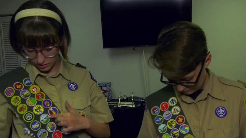 Shenandoah Valley has its first female Eagle Scouts