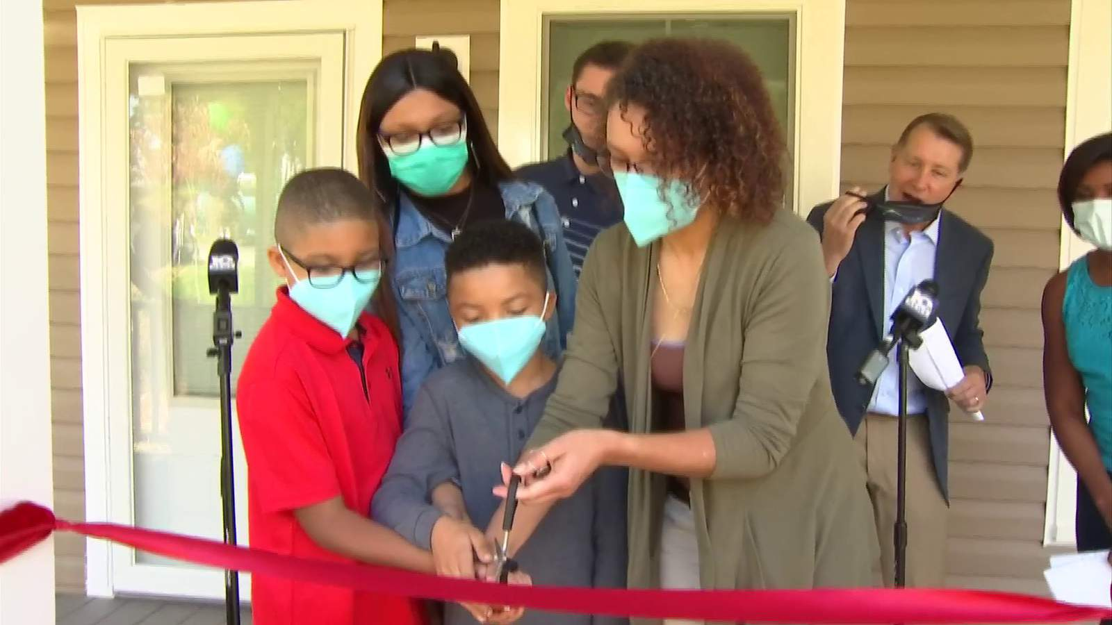 'Home for Good' wraps up with home dedication, key presentation