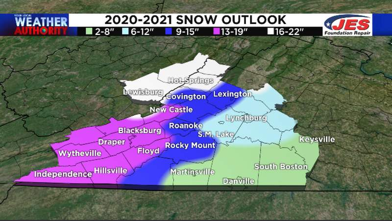 Sorry snow lovers, our winter forecast this year calls for below-average snowfall