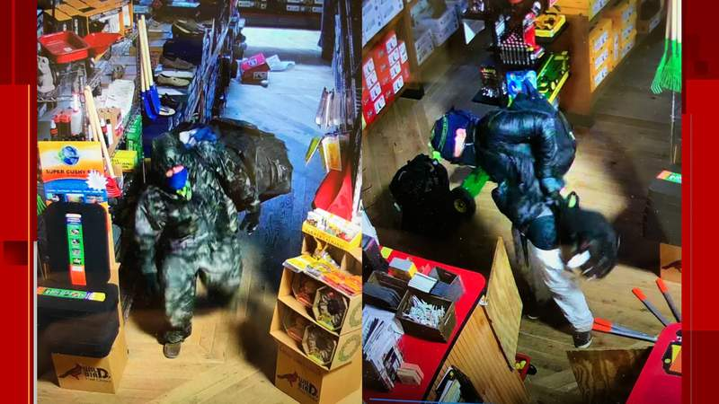 Authorities in Franklin County are investigating after they said a man broke into a local shop and took more than $,6,600 worth of items.