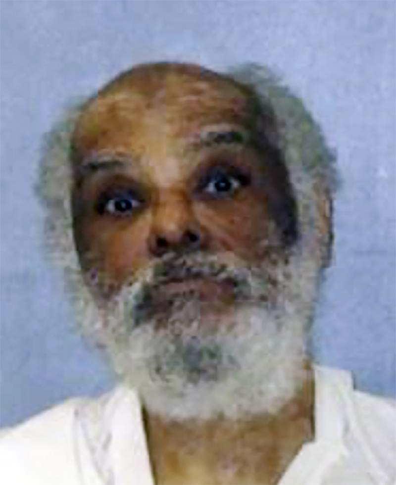 This photo provided by the Texas Department of Criminal Justice shows Raymond Riles. Riles, the longest serving death row inmate in the U.S. was resentenced to life in prison on Wednesday, June 9, 2021 after prosecutors in Texas concluded the 71-year-old man is ineligible for execution and incompetent for retrial due to his long history of mental illness. (Texas Department of Criminal Justice via AP, File)