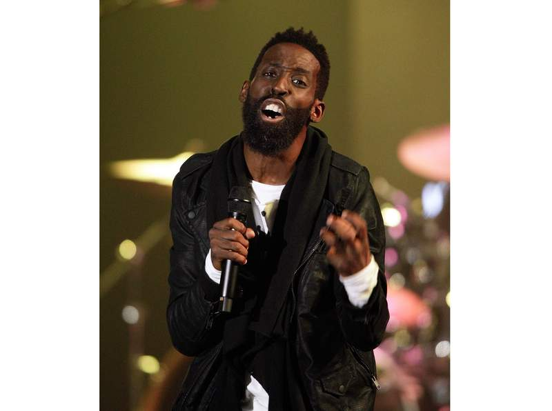 FILE - This Oct. 11, 2016 file photo shows gospel singer Tye Tribbet performing at the 47th Annual GMA Dove Awards in Nashville, Tenn. Tribbett released the new song We Gon Be Alright on Friday. The new track interpolates part of Kendrick Lamars anthemic 2015 song, which was co-produced by Pharrell and won two Grammy Awards. (Photo by Wade Payne/Invision/AP, File)