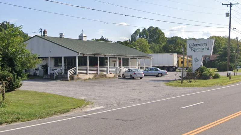 Greenwood Restaurant in Troutville on U.S. Route 11. Image captured July 2019.
