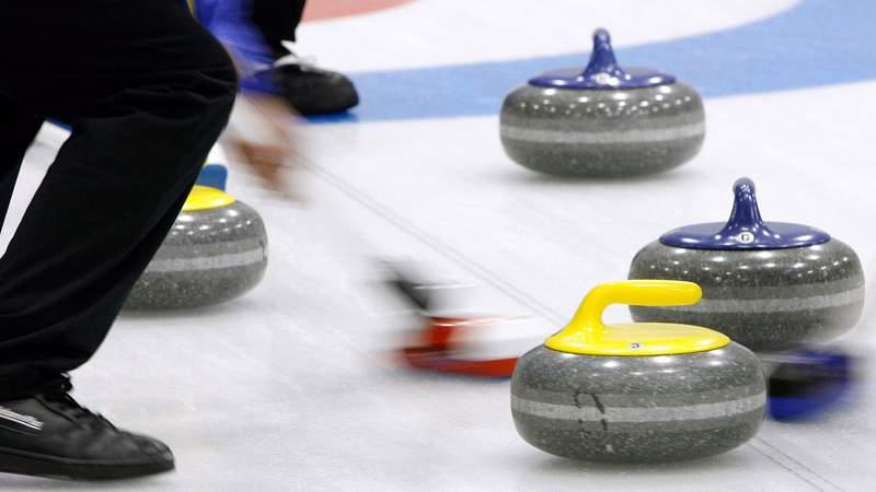 Dec 15, 2007; Kitzbuehel, Austria: A general feature of curling equipment.