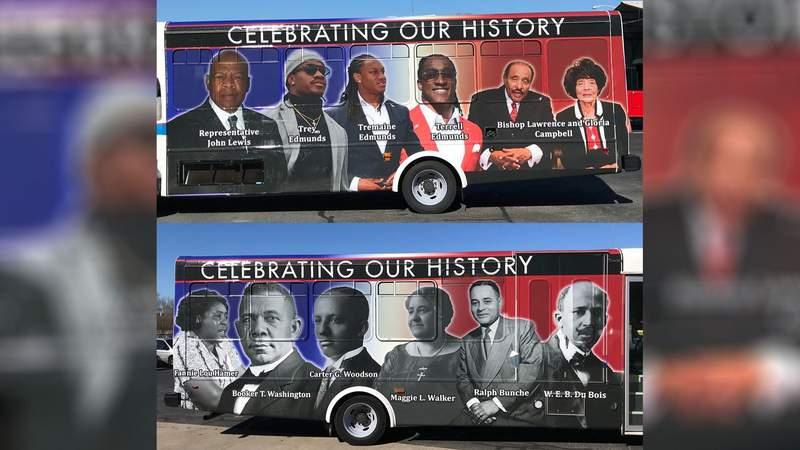 New bus wraps around Danville