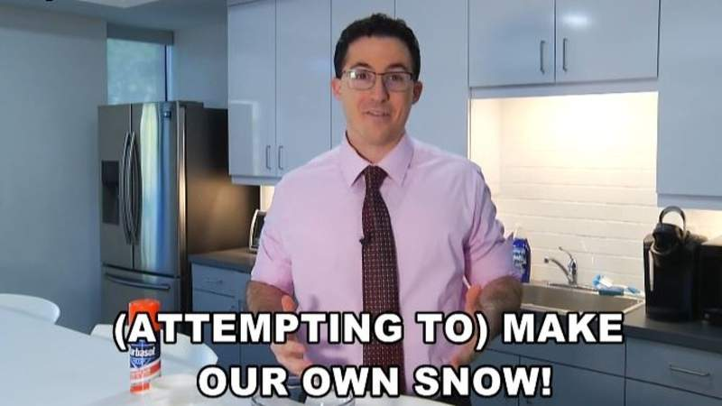 WEATHER HOMESCHOOL Episode 8: Attempt to Make Our Own Snow