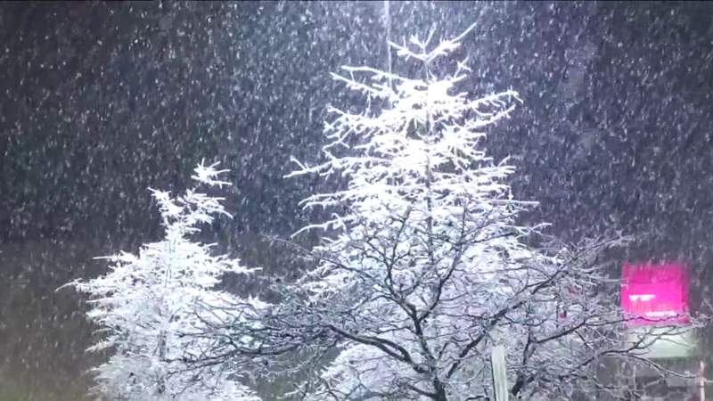 New River Valley sees cold temperatures and snow slush