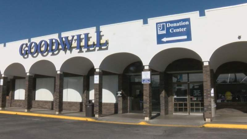 The Goodwill on Lakeside Dr. in Salem.