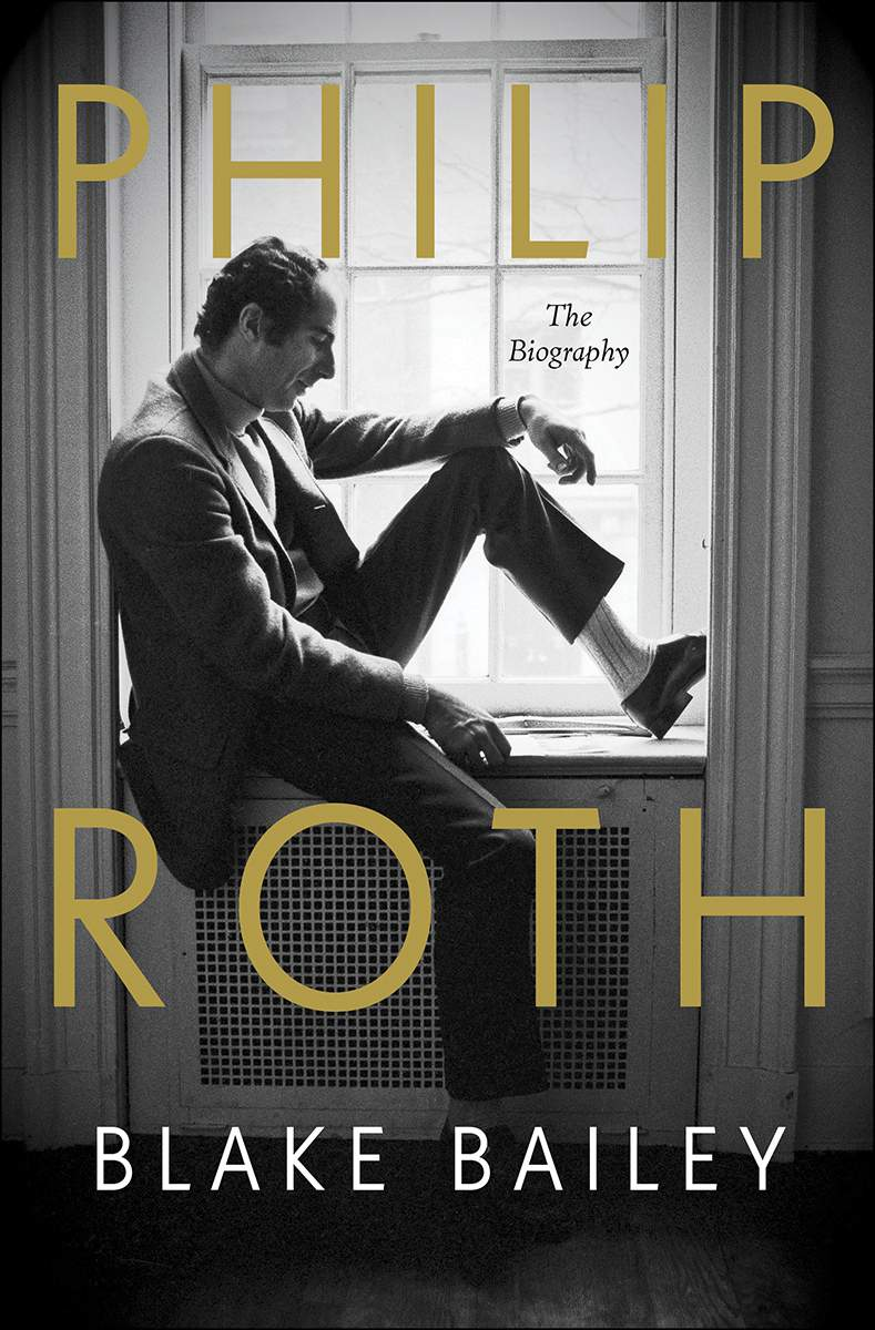 "This cover image released by W.W. Norton shows ""Philip Roth: The Biography,"" by Blake Bailey. (W.W. Norton via AP)"