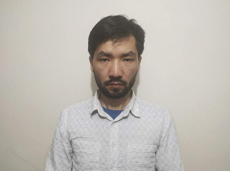 This photo made available by Safeguard Defenders shows Yidiresi Aishan in Istanbul in 2019. Moroccan authorities have arrested the Uyghur activist in exile based on a Chinese terrorism warrant distributed by Interpol, according to information from Moroccan police and a rights group that tracks people detained by China. Activists fear Yidiresi Aishan will be extradited to China, and say the arrest is part of a broader Chinese campaign to hunt down perceived dissidents outside its borders. (Safeguard Defenders via AP)
