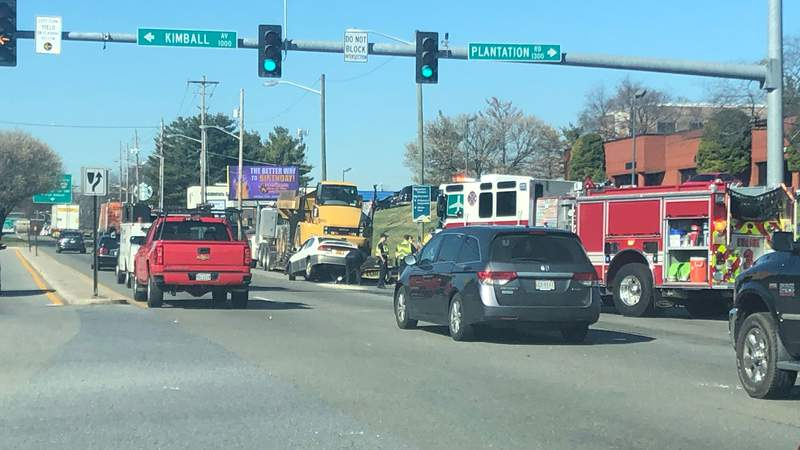 Accident on Feb. 26 on Orange between Kimball and Plantation