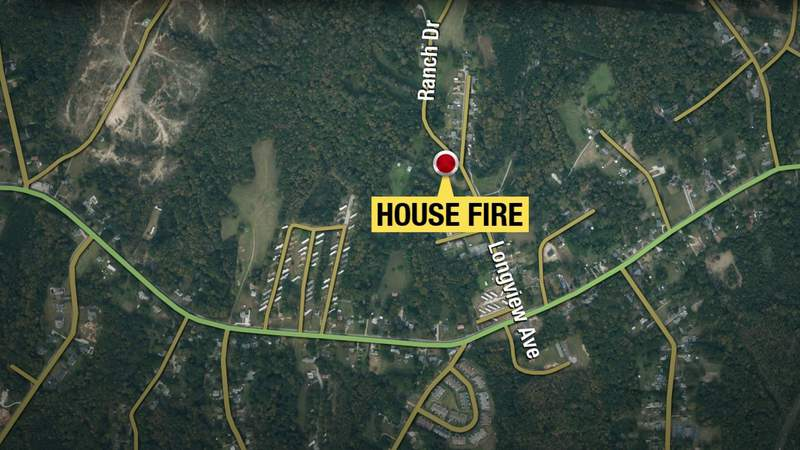 Danville home considered not safe to live in after Friday fire