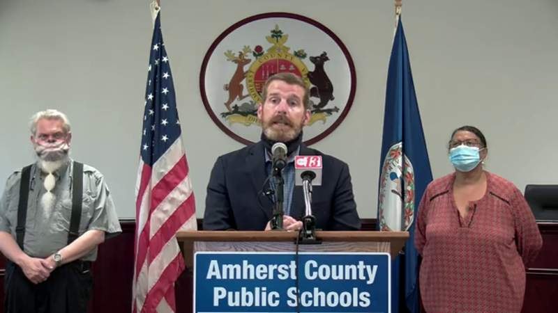 Amherst County Public Schools announce temporary closure due to COVID-19 outbreak