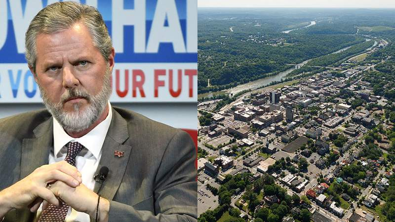 Jerry Falwell Jr. and the city of Lynchburg