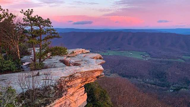 Officials with the Appalachian Trail Conservancy are discouraging people to hike the Appalachian Trail, which includes popular local hiking spot McAfee Knob.