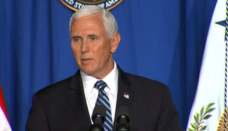 Vice President Pence is holding a Coronavirus Task Force briefing