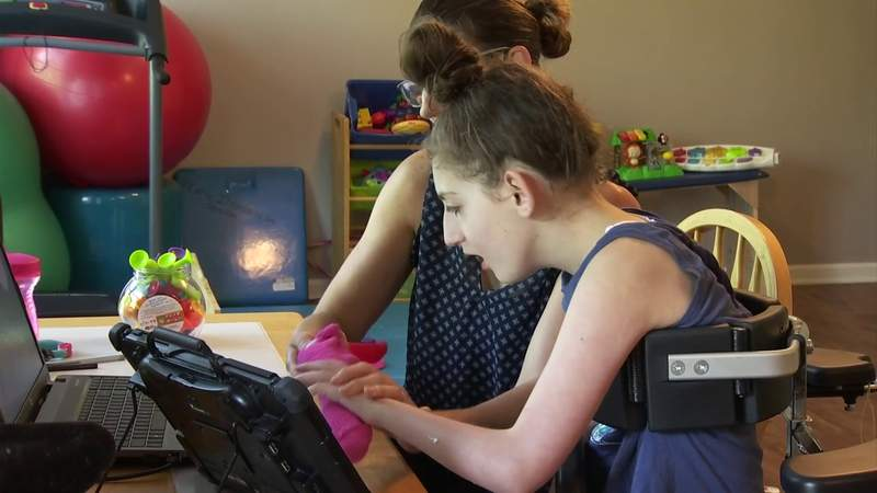 Examining at-home learning for special needs students