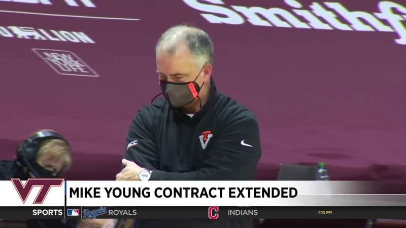 Mike Young contract extended