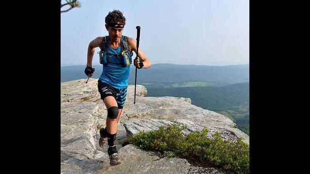 Runner attempting the entire Appalachian Trail passes through Roanoke (Image 1)