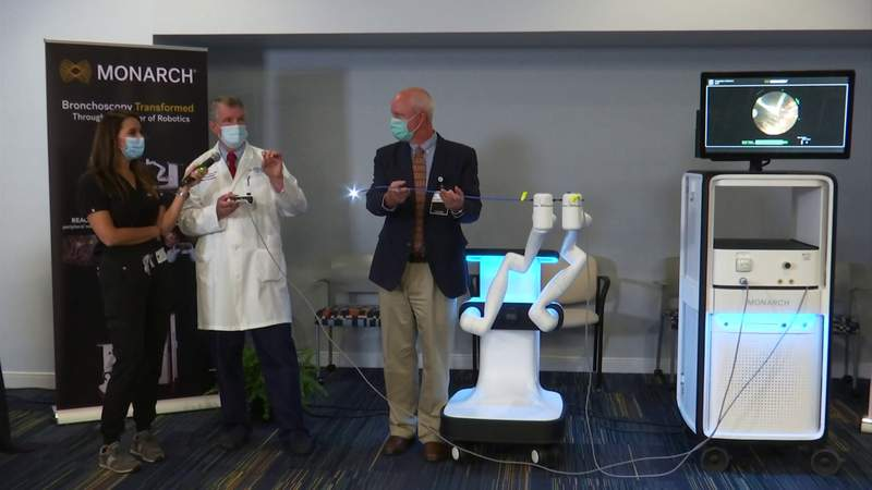 LewisGale first in Virginia to use new technology that helps detect lung cancer earlier