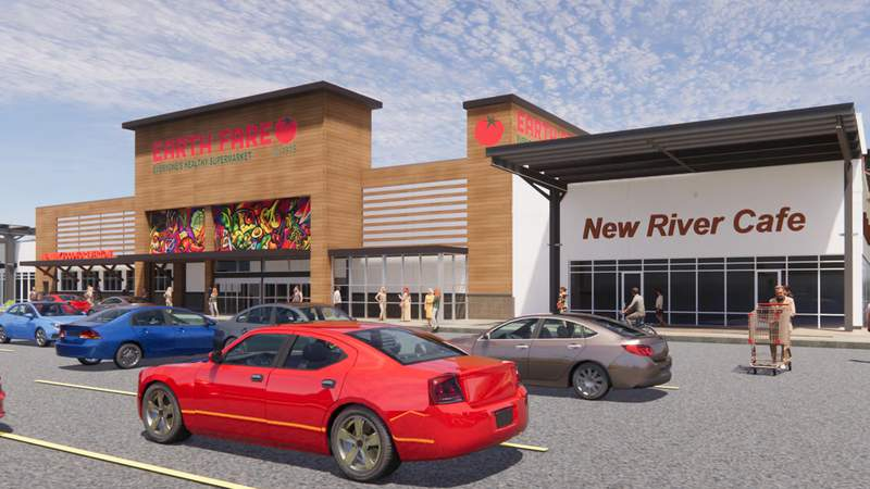 Rendering of what Christiansburg's Earth Fare will look like when it opens