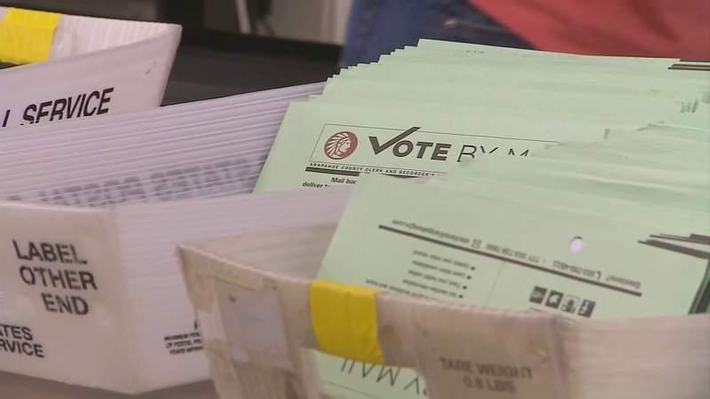 Voter turnout already above average in Rockbridge County