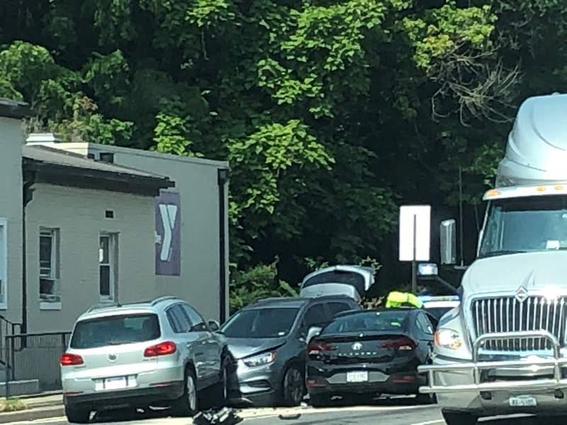 Accident causing delays in Roanoke