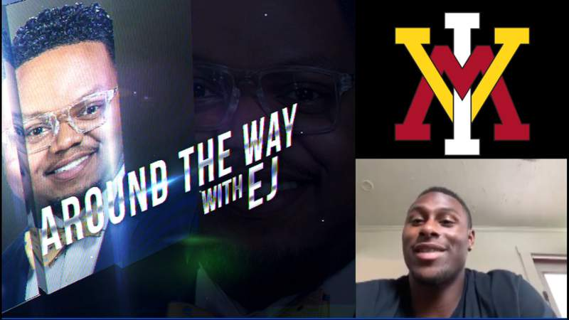 Around the Way with EJ: Keydet Catchup with VMI's Leroy Thomas