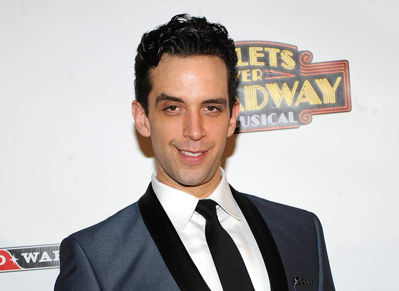 """FILE - In this April 10, 2014, file photo, actor Nick Cordero attends the after-party for the opening night of """"Bullets Over Broadway"""" in New York. Tony Award-nominated actor Cordero, who specialized in playing tough guys on Broadway in such shows as Waitress, A Bronx Tale and Bullets Over Broadway, has died in Los Angeles after suffering severe medical complications after contracting the coronavirus. He was 41. Cordero died Sunday, July 5, 2020, at Cedars-Sinai hospital after more than 90 days in the hospital, according to his wife, Amanda Kloots. (Photo by Brad Barket/Invision/AP, File)"""