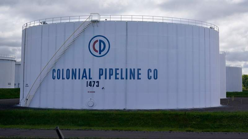 """Colonial Pipeline restarts, but return to normal service will take """"several days"""""""