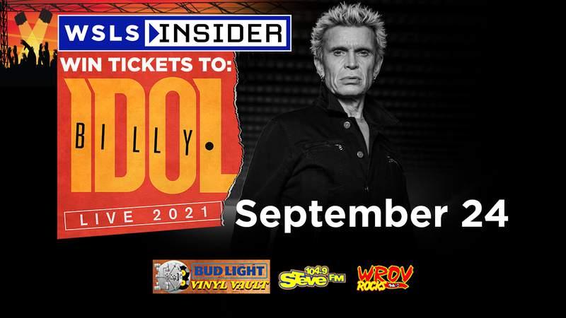 Billy Idol - Sept. 24