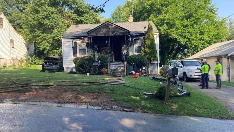 Crews responding to house fire in Northwest Roanoke.