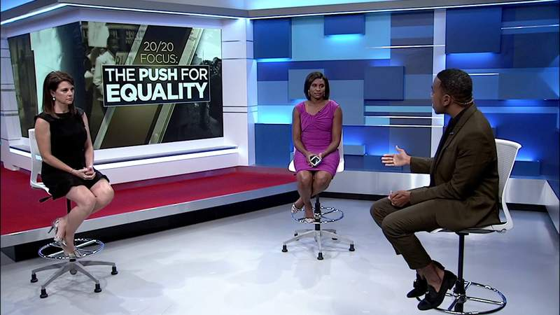 Post-show conversation: 20/20 Focus: The Push for Equality