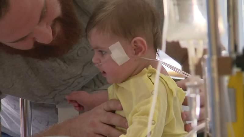 Increased numbers of children's respiratory illnesses