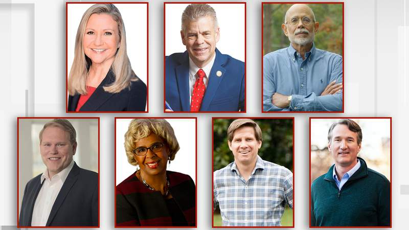 Seven candidates vying for Republican Gubernatorial seat
