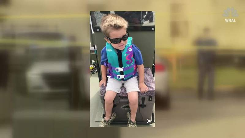 Investigators are still searching for a motive in the murder of a 5-year-old boy shot to death at point-blank range as he played in the yard of his father's Wilson, North Carolina home.