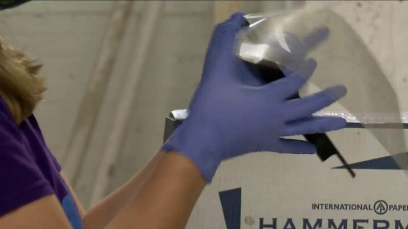 Vector Space delivers masks to Lynchburg medical workers