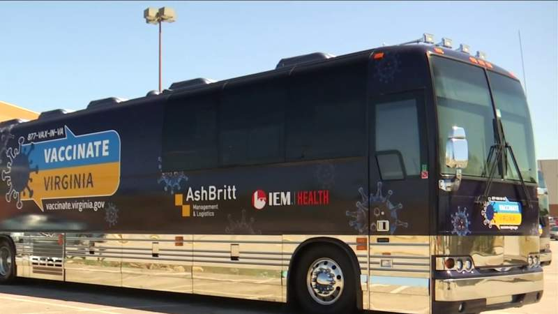 Vaccine clinic takes doses on the move in Danville