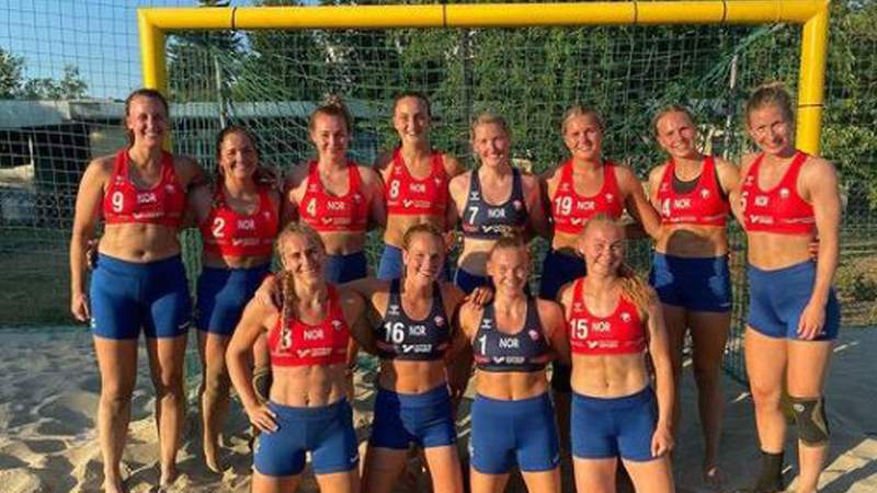 The Norwegian women's beach handball team has been fined for refusing to play in bikini bottoms during a game in the sport's Euro 2021 tournament.