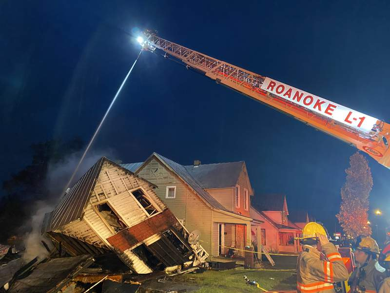 (Courtesy: Twitter.com/Roanoke Fire-EMS)